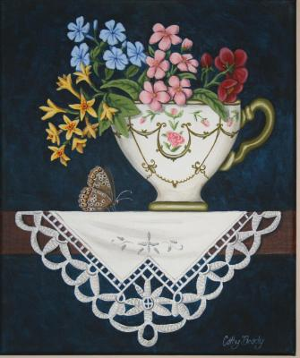 'Teacup Posy 1' SOLD