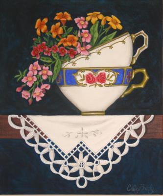 'Teacup Posy ' AVAILABLE