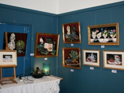 Gallery section displaing my work @ Trilogy Exhibition