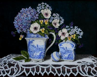 'Blue & white collection ' SOLD