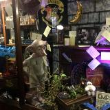 EXHIBITION OF HARRY POTTER COLLECTABLES in museum march 2017 display
