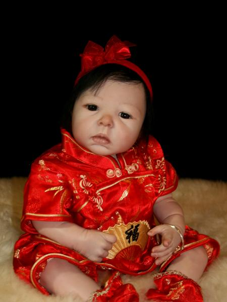 Reborn Oriental Baby Mae Ling Sold Adoption Cathy Brady
