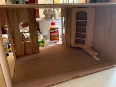 Adding a cupboard