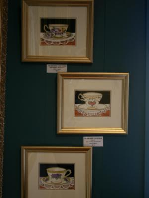 'Teacup paintings'  Unframed painting from this Series AVAILABLE