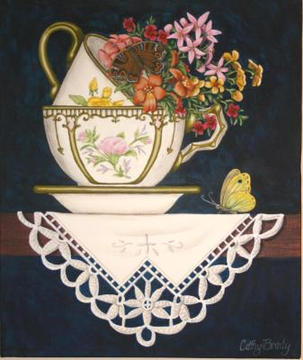 'Teacup Posy 5' SOLD